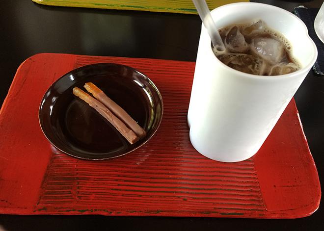 刈水庵コーヒー