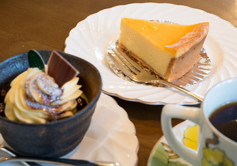 ガトーフリアンのチーズケーキ